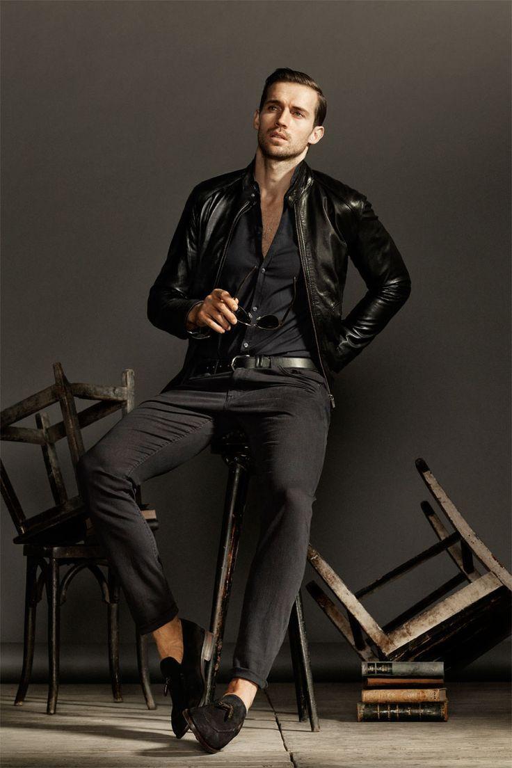 jaqueta-de-couro-preta-moda-masculina