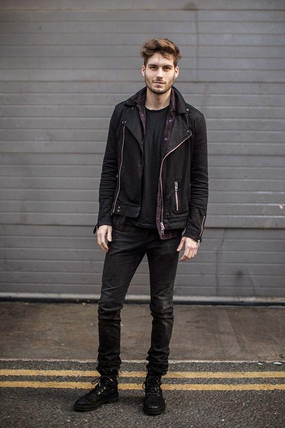 como-usar-jaqueta-de-couro-masculina-moda-masculina-outfit